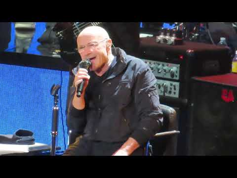 Phil Collins - SOMETHING HAPPENED ON THE WAY TO HEAVEN - 10/5/2018 - BB&T Center Sunrise Florida