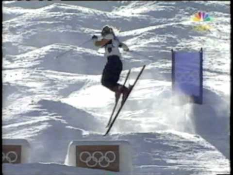 Kari Traa: 2002 Olympics Women's Moguls Final (w/ interview)