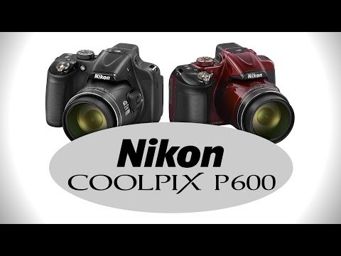Nikon Coolpix P600 - Hands-on Preview by Cameta Camera