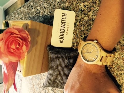 ♥ Jord Wood Watch Review & GIVEAWAY! ♥