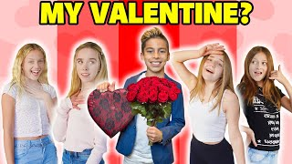 I Asked VIRAL TikTok GIRLS To Be My VALENTINE! **ROMANTIC CHALLENGE** ❤️ | The Royalty Family