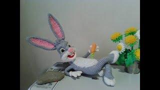 Багз Банни,ч.3.  Bugs Bunny, р.3.  Amigurumi. Crochet.  Амигуруми. Игрушки крючком.