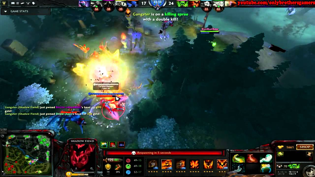 DOTA 2 Highlights: ShadowFiend trong tay EG.Fear