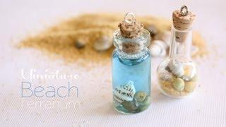 Miniature Beach Terrarium Necklace