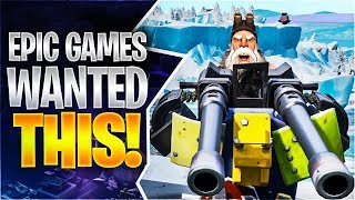 EPIC GAMES WANTED THIS! (Fortnite Battle Royale)