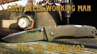 Cold Steel Working Man (54NVG) - відео 1