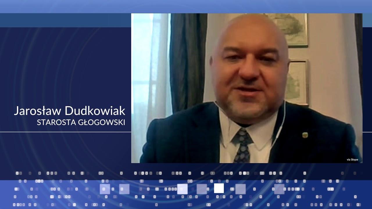 Wywiad z Jarosławem Dudkowiakiem, Starostą Głogowskim
