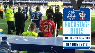 BACKSTAGE BLUES: EVERTON V SOUTHAMPTON | TUNNEL CAM, DUGOUT CAM + MORE!