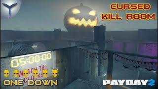 Payday 2. Как пройти карту cursed kill room. ONE DOWN.