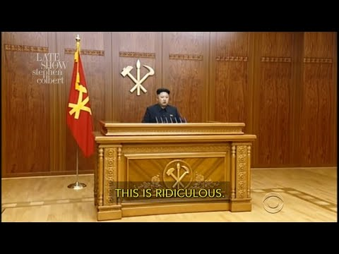 Kim Jong-Un Responds To Trump's 'Rocket Man' Nickname