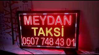 Taksi Led Tabela