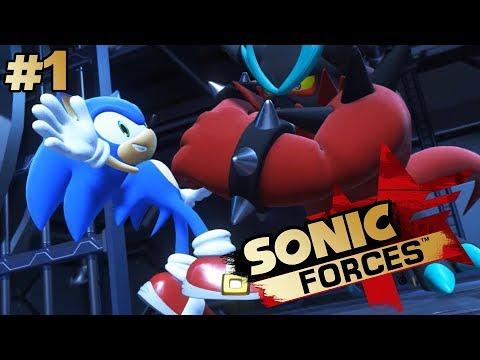 НАЧИНАЕМ   Прохождение Sonic Forces #1