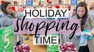 SHOP WITH ME IN CARTERS + BABY HAUL // HOLIDAY SHOPPING 2018