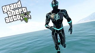 THE FUTURE FLASH! FASTEST SPEEDSTER EVER! (GTA 5 Mods)