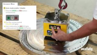 Assfalg Electro-permanent lifting magnet SB500 - Instruction manual