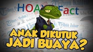 Hoax or Fact: Anak Durhaka Dikutuk Ibunya Jadi Buaya di Bogor?