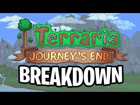 Breaking Down the FINAL Terraria Update Trailer!