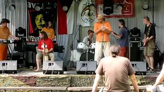 Video Orly w Blotie Europy live at Týnec nad Sázavou - Reggae Festival