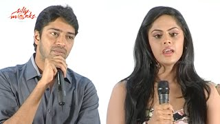 Allari Naresh & Karthika New Film - Siri Cinema Production No: 2 Movie  Press Meet