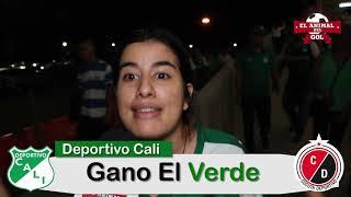 Deportivo Cali Vs Cucuta Deportivo [2x0] HINCHAS Y ZONA MIXTA Fecha 12 Liga Águila 2019