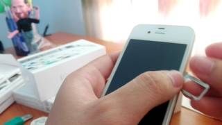 Unboxing Iphone 4s in 2017