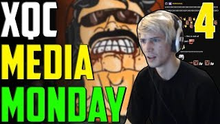 XQC MEDIA MONDAY #4 WCHAT Ft. Moxy