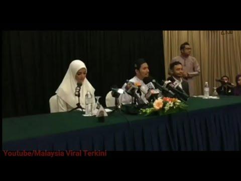 Sidang Media Fattzura: Fatah Amin Mengaku Dah Bertunang Dengan Fazura&Akan Umumkan Perkahwinan Nanti
