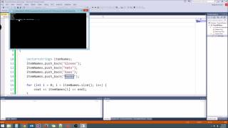 C++/Game Tutorial 17: Vectors!
