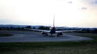 preview picture of video 'Air Berlin E 190 D-ARJC Takeoff Flughafen Graz 16.06.13'