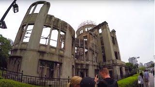 nuclear bomb site  hiroshima japan