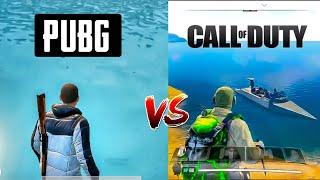 PUBG Mobile vs Call of duty Mobile (Battle Royale Comparison)