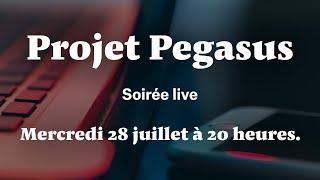 Pegasus Connection : Soirée live sur Mediapart