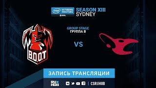 Boot vs Mousesports  - IEM Sydney XIII - de_mirage [GodMint, Anishared]