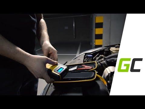 Multifunktsionaalse mootori starter - laadija Green Cell Power Bank 11100 mAh