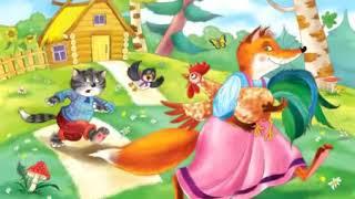 Развивающие уроки и мультфильмы для детей  Петушок золотой гребешок