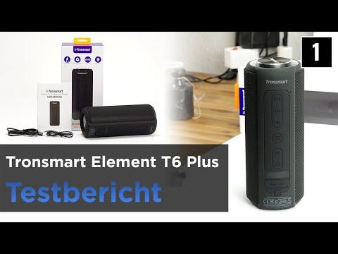 Tronsmart Element T6 Plus Test - Bluetooth-Lautsprecher Powerbank/SD-Kartenslot/USB-Stick Funktion.