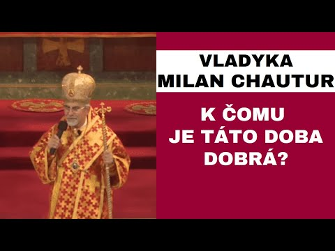 Homília - vladyka Milan Chautur CSsR - Michalovce - 26.8.2017