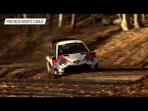 2020年WRC第1戦ラリーモンテカルロ ToyotaGazooRacing GRヤリス レース直前ダイジェスト動画