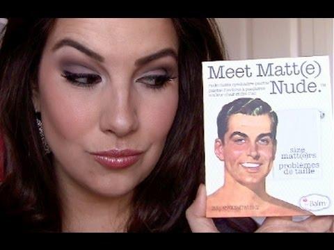The Balm Meet Matt(e) Nude Palette Review