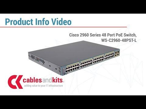 Cisco 2960 POE Switch