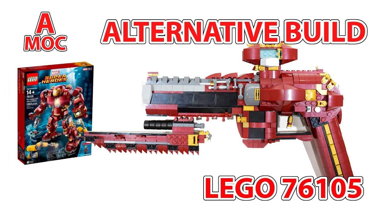 76105 LEGO Handgun. Alternative build. mix of warhammer/gears of war/borderlands weapons :) [A MOC]