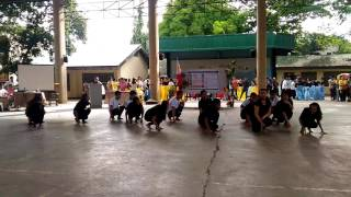 South African Dance by Cabancalan National High School