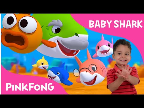 BABY SHARK  DANCE CHALLENGE - PINKFONG Sing and Dance Animal Song