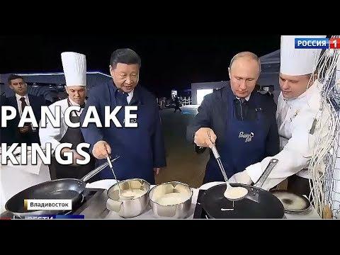 Putin a Si Ťin-pching spolu usmažili palačinky: Utužovali tak protiamerické spojenectví
