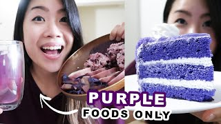 I Only Ate Purple Foods For 24 Hours