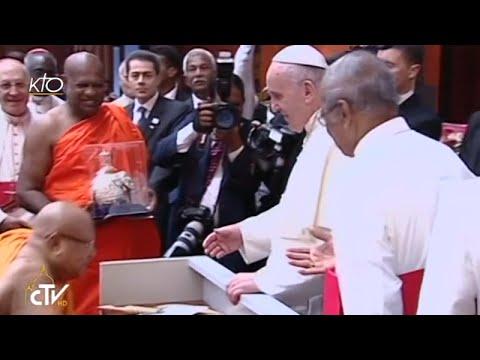 Rencontre interreligieuse du Pape François au Sri Lanka