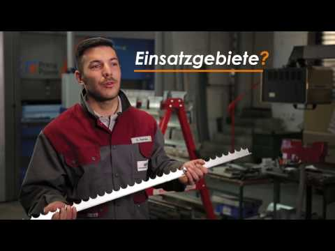 Zackenleisten aus Edelstahl oder Stahlblech online kaufen