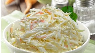 Coleslaw Recipe - 3 Tips For Worlds Best Slaw