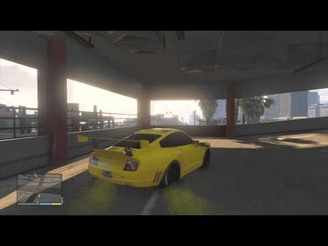 Grand Theft Auto 5 Drifting In A Porsche 911 Turbo (Comet)