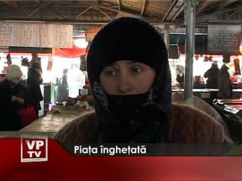 Piaţa îngheţată